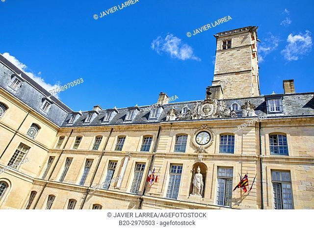 Tour Phillippe Le Bon, Palais des Ducs et des Etats de Bourgogne, Dijon, Côte d'Or, Burgundy Region, Bourgogne, France, Europe