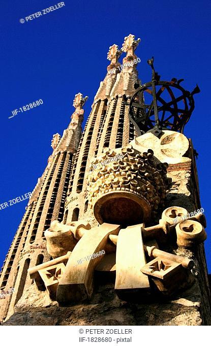 Sagrada Familia, Barcelona, Spain, Cathedral by Antoni Gaudi