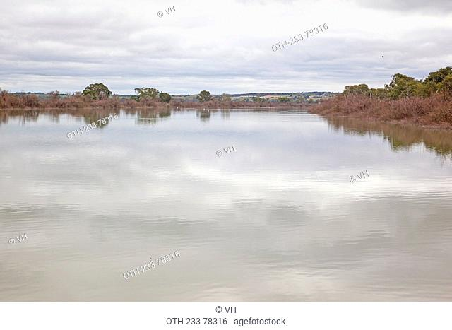 River bank cliffs on Murray River, Adelaide, South Australia
