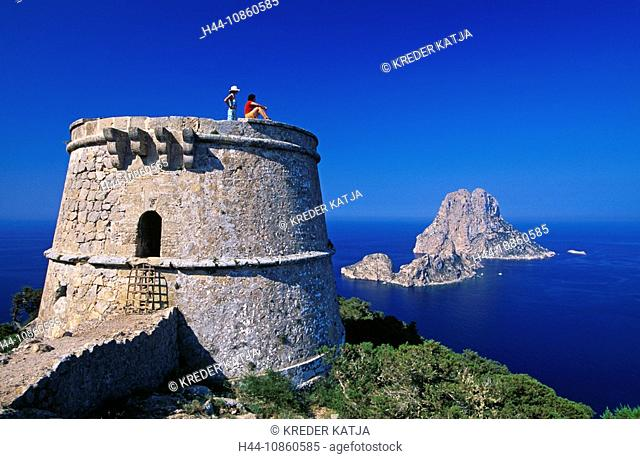 Ibiza, Balearic Islands, Spain, Mediterranean coas