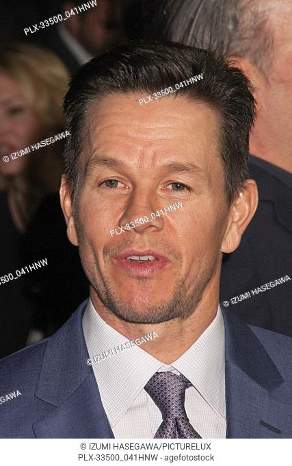 """Mark Wahlberg 12/18/2017 The World Premiere of """"""""All The Money in The World"""""""" held at The Academy's Samuel Goldwyn Theater in Beverly Hills"""