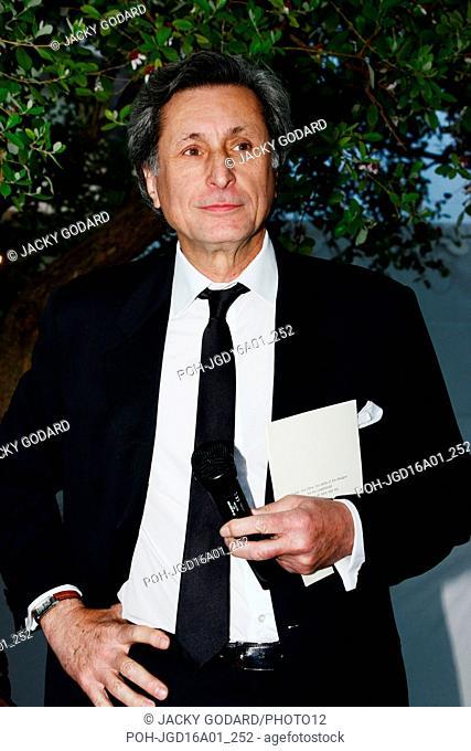 Patrick de Carolis attending the Prix François Chalais ceremony 69th Cannes Film Festival May 20, 2016