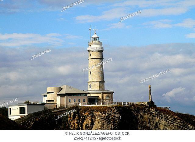 Cabo Mayor Lighthouse, Santander, Cantabria, Spain