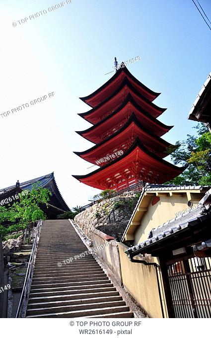 Five-story pagoda,Japan