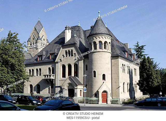 Germany, Rhineland-Palatinate, Koblenz, Appellate court building