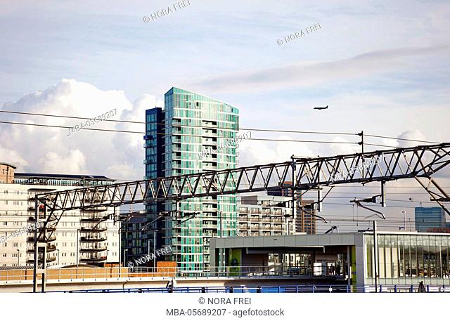 Great Britain, London, architecture, town, skyline, houses