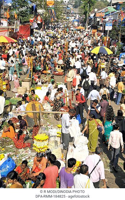 Dadar Market Mumbai Maharashtra India