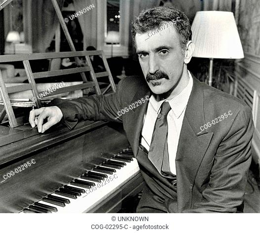 American musician Frank Zappa