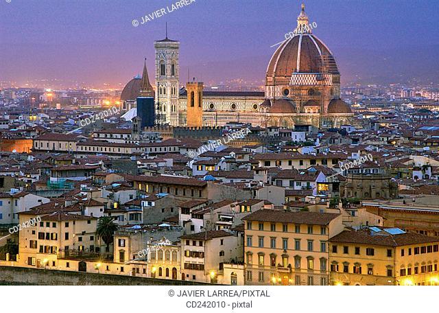 Santa Maria del Fiore cathedral. Florence. Tuscany, Italy