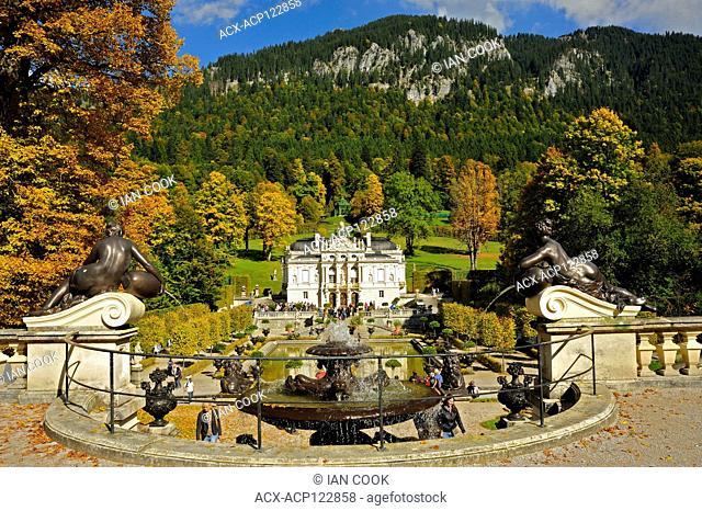 Linderhof Palace, Bavaria, Germany
