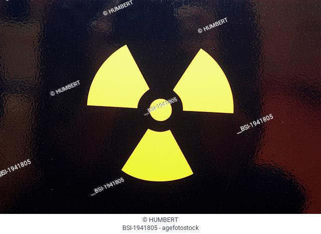 SYMBOL OF NUCLEAR POWER