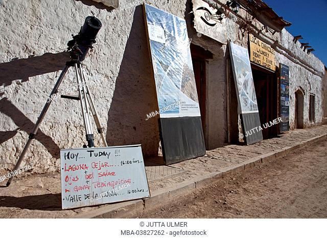 Chile, San Pedro de Atacama, tour provider