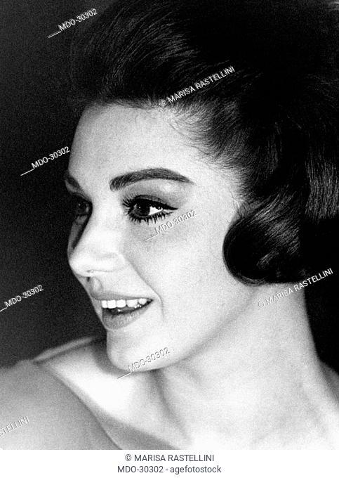 Portrait of Sylva Koscina. Portrait of Yugoslavian-born Italian actress Sylva Koscina. 1963