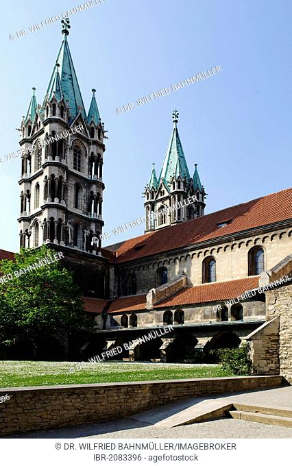Naumburg Cathedral of St. Peter and St. Paul, Naumburg, Saxony-Anhalt, Germany, Europe