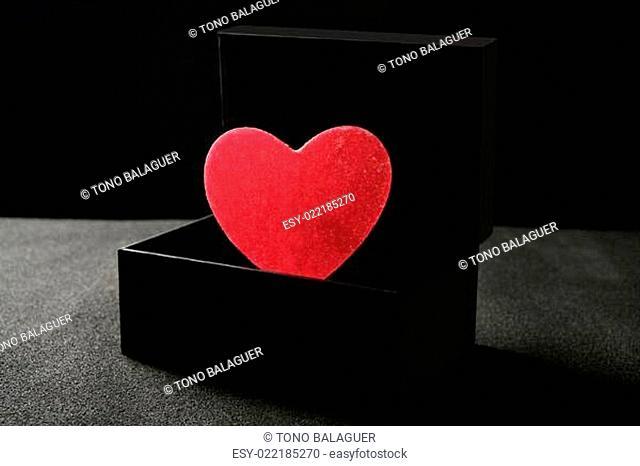 Candy hearth in a black box
