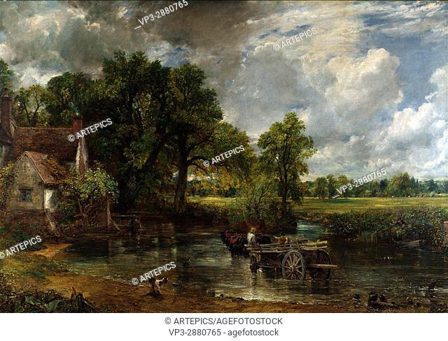John Constable - The Hay Wain - National Gallery London