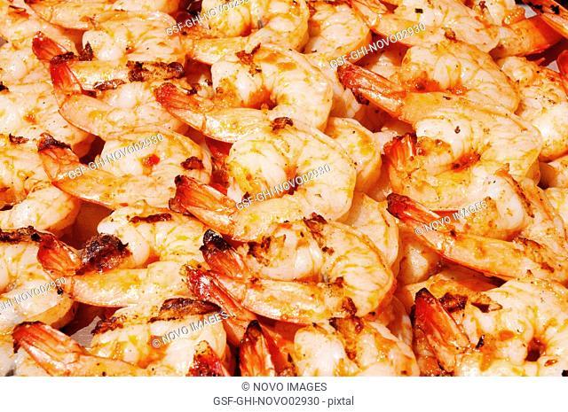 Barbeque Shrimp, Close-Up