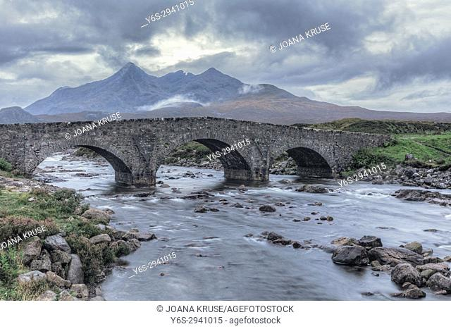 Sligachan, Cuillins, Isle of Skye, Scotland, United Kingdom