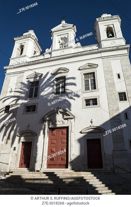 Church of Saint Michael (Igreja de São Miguel), Alfama District, Lisbon, Portugal, Europe