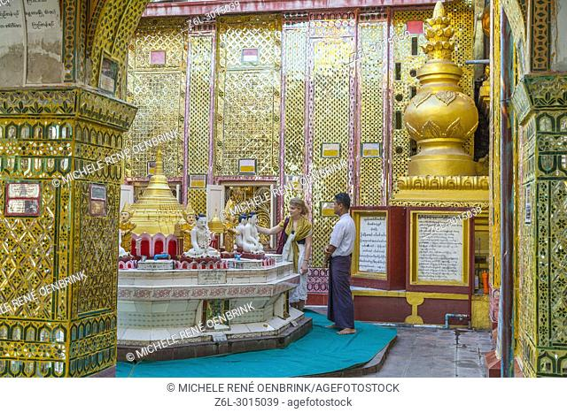 Mandalay Hill Sutaungpyei Pagoda Myanmar
