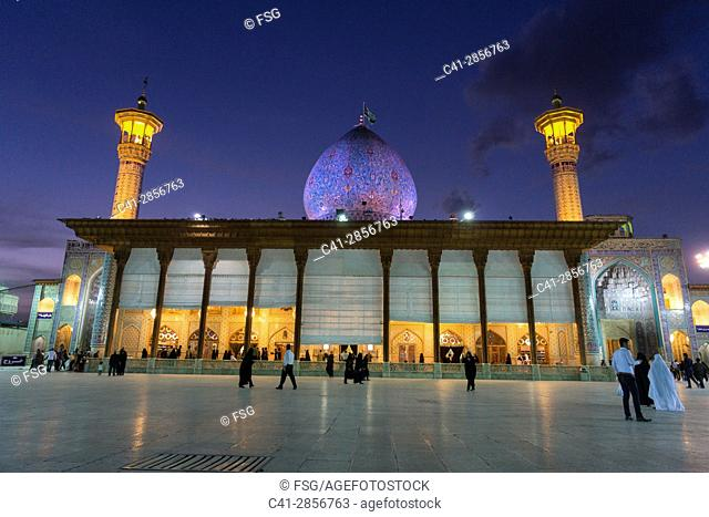 Shah Cheragh, funerary monument and mosque in Shiraz, Iran