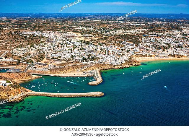 Praia de Baleeira. Albufeira. Faro district. Algarve. Portugal
