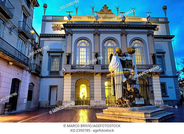 The Dali Theatre and Museum, is a museum of the artist Salvador Dalí in his home town of Figueres, in Catalonia, Spain