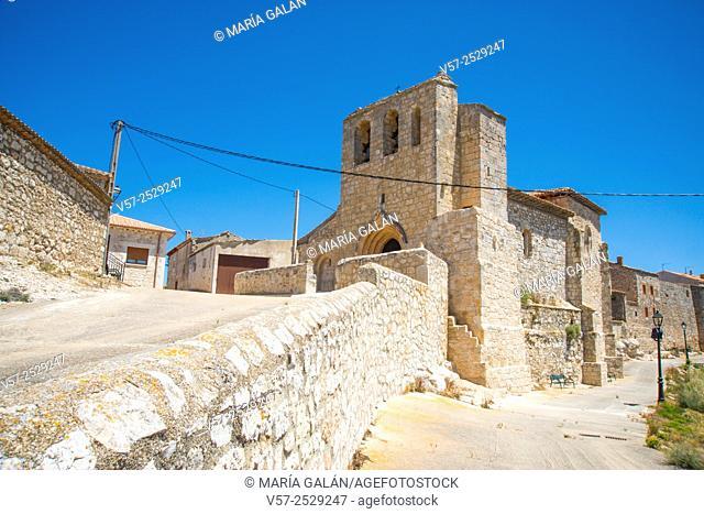 Church. Haza, Burgos province, Castilla Leon, Spain