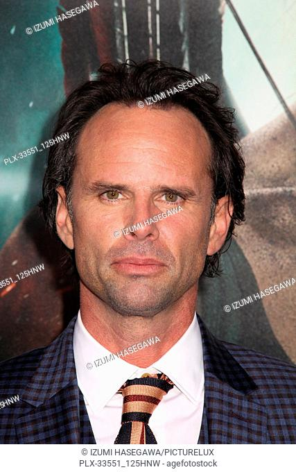 "Walton Goggins 03/12/2018 The U.S. Premiere of """"Tomb Raider"""" held at TCL Chinese Theater in Los Angeles, CA Photo by Izumi Hasegawa /HNW / PictureLux"