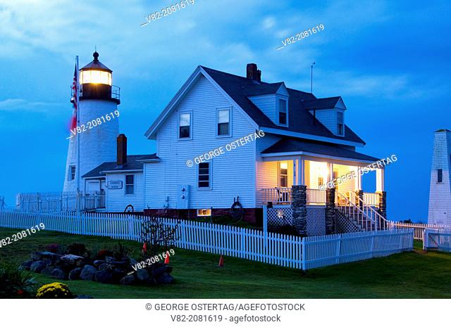 Pemaquid Point Lighthouse, Pemaquid Point Lighthouse Park, Maine