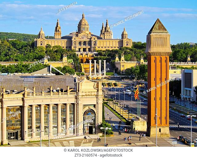MNAC - National Museum of Art in Barcelona, Catalonia, Spain