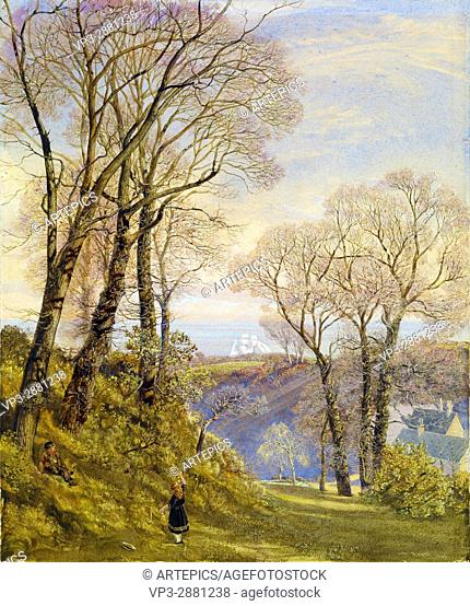 John Brett - February in the Isle of Wight - Birmingham Museum and Art Gallery