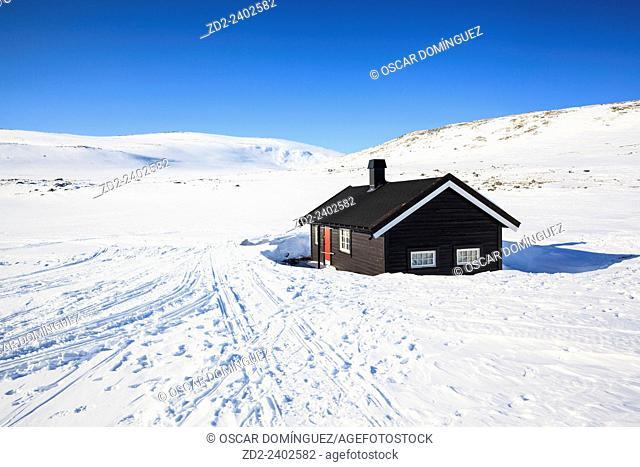 Reinheim cabin. Dovrefjell-Sunndalsfjella National Park. Norway