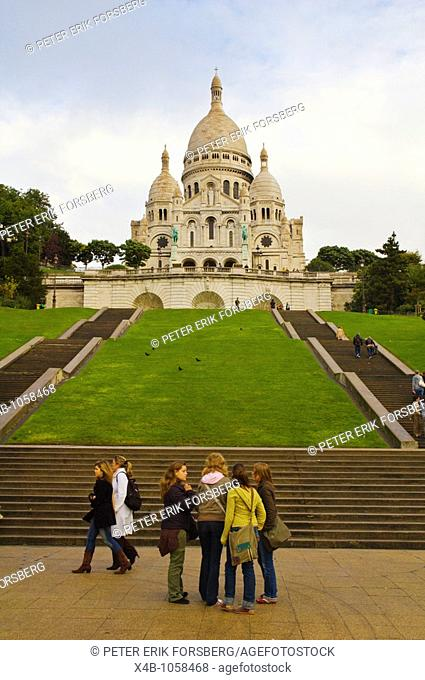 Sacre-Couer church Montmartre Paris France Europe