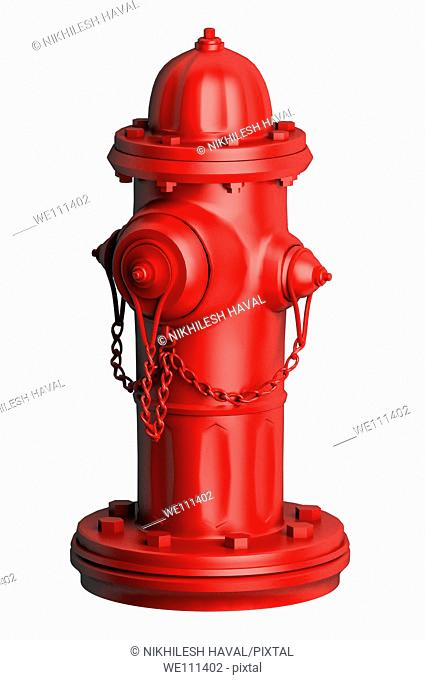 Red fire hydrant 'water faucet'