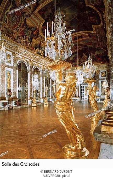 Palace of Versailles - Salle des Croisades