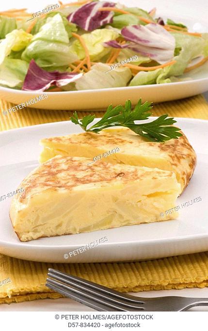 Spanish Cuisine Tortilla de patatas Spanish tortilla