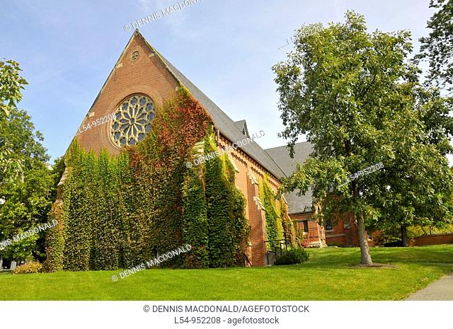 Sage Chapel Cornell University Campus Ithaca New York Finger Lakes Region