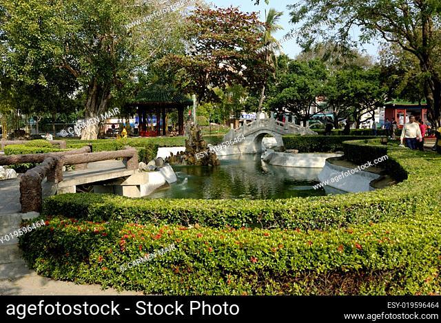 Park am Koxinga Schrein in Tainan
