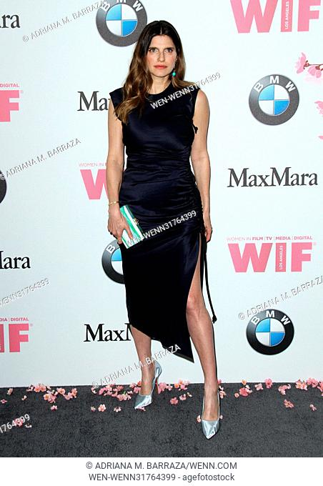 Women In Film 2017 Crystal and Lucy Awards held at The Beverly Hilton Hotel - Arrivals Featuring: Lake Bell Where: Los Angeles, California