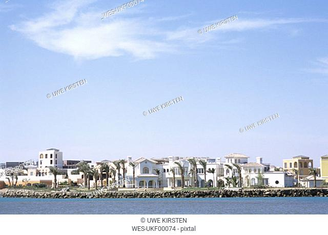 Egypt, El Gouna, Villas at Red Sea