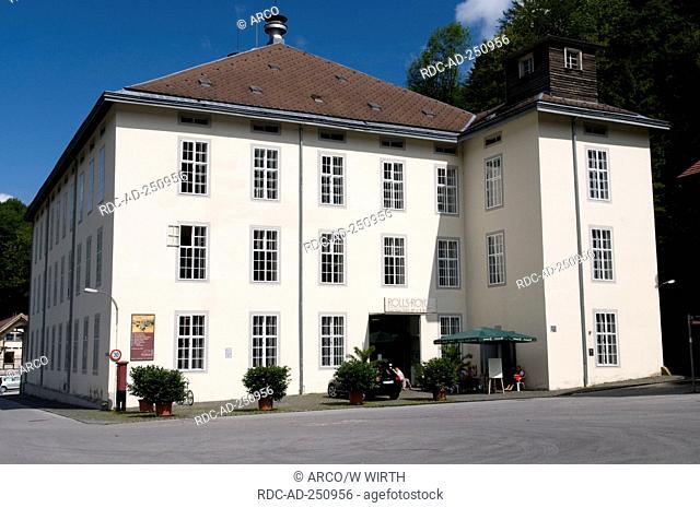 Rolls-Royce car museum Gutle Dornbirn Voralberg Austria Gütle