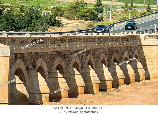 Venta La Vega Bridge, Almansa, Albacete province, Castile La Mancha, Spain