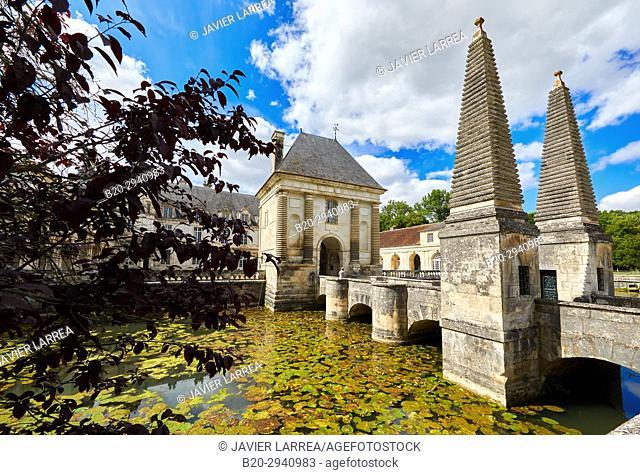 Castle, Château de Tanlay, Tanlay, Yonne, Bourgogne, Burgundy, France, Europe