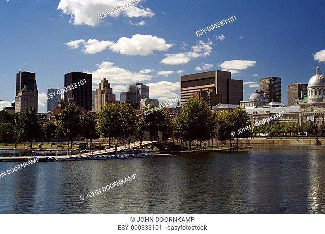 Central Business District, Montreal, Quebec, Canada