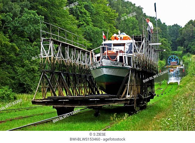 ship carried on land, Poland