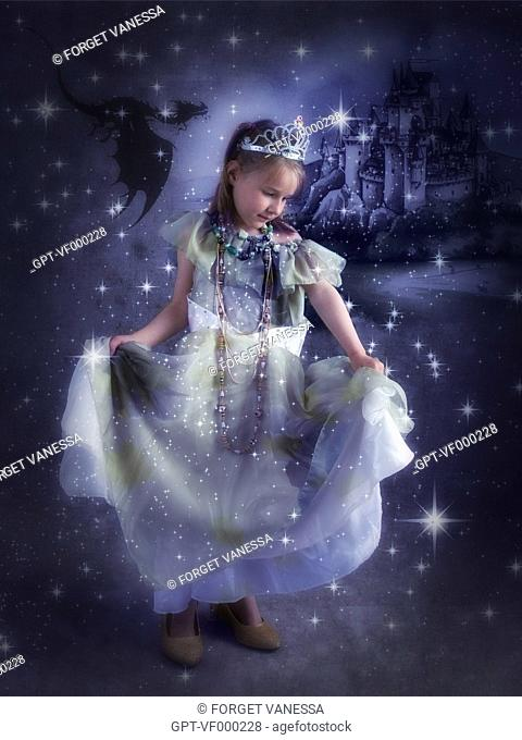 PRINCESS, CAREER OF CHILDHOOD DREAMS, WHEN I GROW UP, I WANT TO BE A.., PICTURE SERIES EXHIBITION