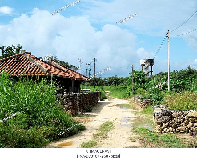 Rural Scene in Taketomi Island