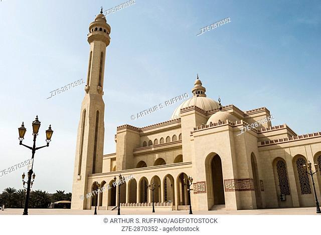 Al Fateh Grand Mosque, Manama, Bahrain, United Arab Emirates