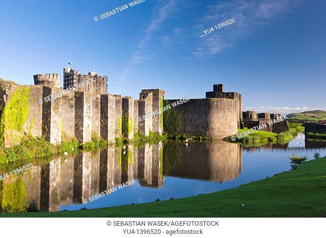 Caerphilly Castle Welsh: Castell Caerffili is a medieval castle that dominates the centre of the town of Caerphilly in south Wales  It is the largest castle in...